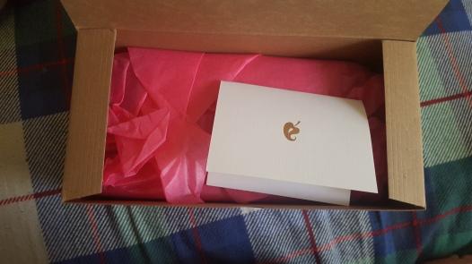 Fancy packaging tho